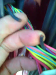 how to fix a broken door wire f150online forums strip both ends of the broken wire and the piece of wire to be spliced in then i split the ends of a broken wire into two sections along