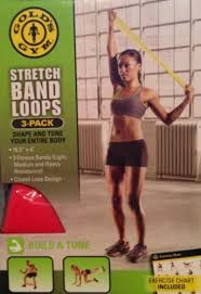 Amazon Com Golds Gym Stretch Band Loops By Stamina