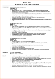 12 Payroll Accountant Resume Resume Cover Note