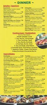 Cinco De Mayo menu in Bloomingdale, New ...
