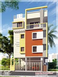3 floor house design narrow home design