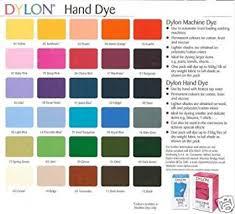 Dylon Dye Colour Chart Dylon Cold Water Fabric Cloth Dye All Colour Available