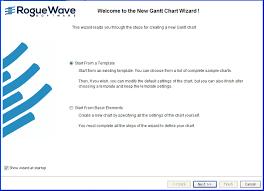 Gantt Chart Wizard Creating An Activity Oriented Gantt Chart