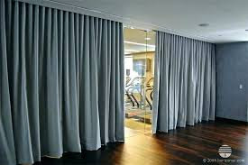 fabric room dividers divider curtain black provide s54 fabric