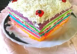 Resep rainbow cake kukus cuma 4 telur. Resep Rainbow Cake Kukus Ny Liem Super Lembut Yang Bisa Manjain Lidah Kreasi Masakan