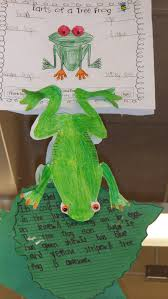 tree frog template red eyed tree frog craft for rainforest project red eye tree frog