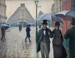 paris street rainy day the art institute of chicago paris street rainy day