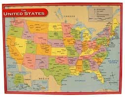 United States Map Chart