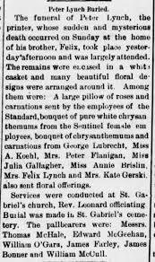 Peter Lynch Buried d 1898 P - Newspapers.com