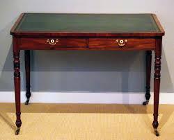 antique desk furniture uk. antique writing table / regency mahogany library desk furniture uk o