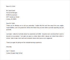 Simple Thank You Letter - Kleo.beachfix.co