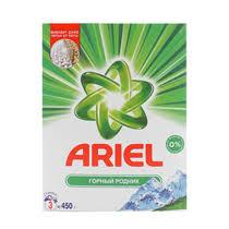 <b>Стиральный порошок Ariel</b> Горный родник автомат 450 г купить с ...