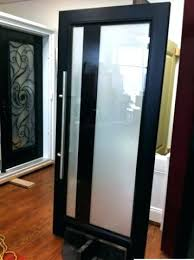 modern glass entry doors fiber contemporary stained front