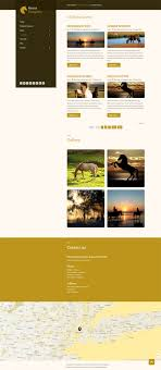 template horse horse stable equestrian clubs free joomla 3 x template joomla