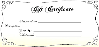 Microsoft Word Gift Certificate Template Christmas Gift Certificate Template Word Umbrello Co