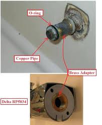 delta bath faucet leak delta tub faucet leak delta tub spout question plumbing home improvement of delta bath faucet leak