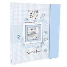 Baby Photo Album Books Our Baby Boy Memory Book
