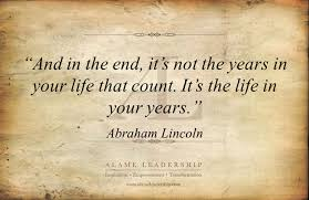 Quotes About Living Life To The Fullest Impressive AL Inspiring Quote On Living Life To The Fullest Alame Leadership