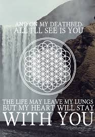 Bring Me The Horizon Quotes Unique All I See Is You Via Tumblr On We Heart It