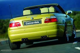 BMW M3 Cabriolet (E46) specs - 2001, 2002, 2003, 2004, 2005, 2006 ...