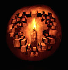 pumpkin drawing with shading. 3d pumpkin carving drawing with shading a