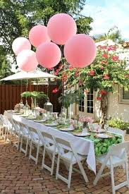 outdoor party tables 3 refreshing summer party themes outdoor round party tables
