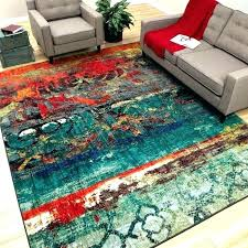 multi colored area rug solid color bedroom best images on rugs indoor outdoor within bright furniture