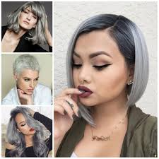 Short Grey Hair Style gray hair ideas for 2017 2017 gray hair ideas hairstyles 1047 by wearticles.com