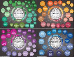 Dyspraxia Chart With The 3 Most Common Comorbid Conditions