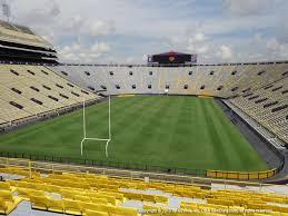 Lsu Tiger Stadium View From South Endzone 416 Vivid Seats