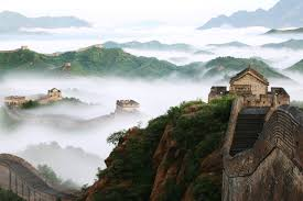 study possible ancient ian origins in chinese civilization jinshanling a portion of the great wall near beijing view stock