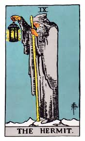 The Hermit Tarot Card Meaning in Readings: Isolation