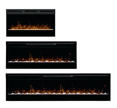 dimplex 50 inch linear electric fireplace fireboxes inserts wall mount blf50 synergy