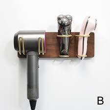 stylish wall mounted hair dryer holder