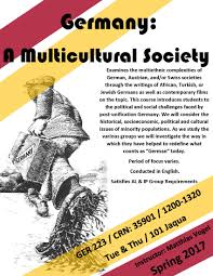 spring courses department of german scandinavian ger 223 a multicultural society 4 credits vogel