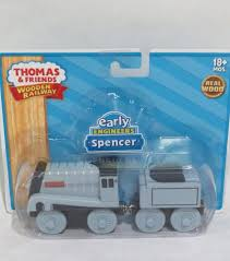 thomas and friends wooden railway early engineers spencer learning curve rare