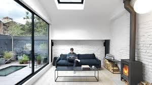 architecture houses interior.  Architecture Threefold Architects Updates London Mews House With Monochrome Interiors  And Rustic Details Throughout Architecture Houses Interior U