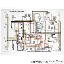 porsche parts full color wiring diagrams (50 68) porsche 911 wiring diagram Early Porsche 911 Wiring Diagram Early Porsche 911 Wiring Diagram #88