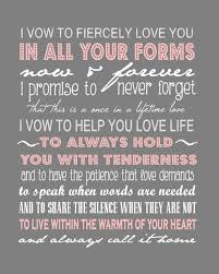 I Promise To Love You Quotes Cool I Vow To Fiercely Love You In All Your Forms Now And Forever I