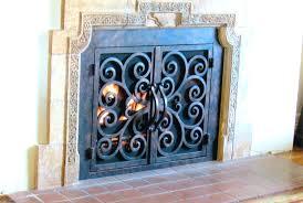 fireplace mesh doors valuable design custom wrought iron fireplace screens new ideas fireplace doors wrought iron fireplace mesh doors screens