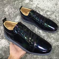 fashion black patent leather casual shoes fashion luxury women men brand best red bottom sneakers famous party wedding dress with box boat shoes for