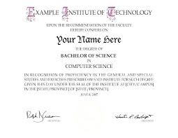 Fake Degree Template Certificate Doctorate Stingerworld Co