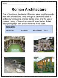 ancient chinese architecture worksheet. roman worksheets ancient chinese architecture worksheet