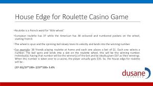 Roulette House Edge Calculator Slots Togo