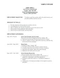 Best Objective For A Resume Best Objective For Resume Great