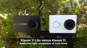 Xiaomi Yi 4k Low Light Xiaomi Yi Lite And Xiaomi Yi Audio Comparison In Low Light