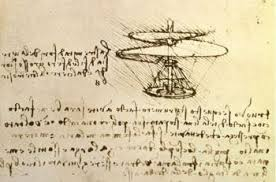 leonardo da vinci the gift leonardo sketch of helicopter