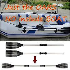 Buy Generic <b>1 Pair Aluminum Alloy</b> Detachable Afloat Kayak Oars ...