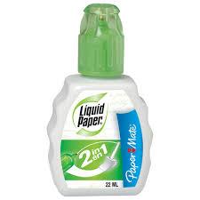 "<b>Корректирующая жидкость</b> ручка + губка <b>PAPER</b> MATE ""Liquid ..."