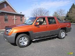 2004 Sunburst Orange Metallic Chevrolet Avalanche 1500 Z71 4x4 ...